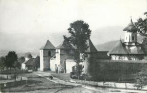 Romania Vatra Moldovitei monastery