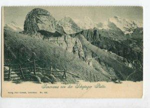 3127495 Switzerland Panorama von der SCHYINGER PLATTE Vintage