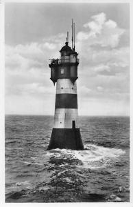 Rotesand Leuchtturm an der Wesermuendung Lighthouse