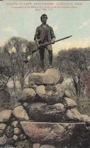 Statue of Capt. John Parker, Lexington, Massachusetts,  00-10s