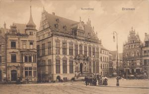 BREMEN, Bremen, Germany, 1900-1910's; Schutting, Horse Carriages