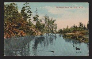 Rockwood Park, St. John NB - 1910s - Unused - Some Wear