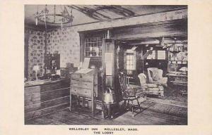 Massachusetts Wellesley Inn The Lobby Albertype