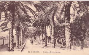 HYERES, France, 00-10s; Avenue Beauregard