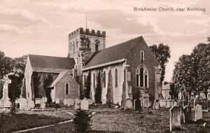 UK - England, Worthing. Broadwater Church