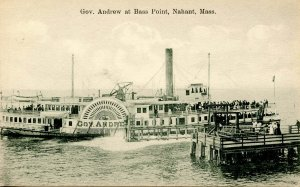 MA - Nahant. Bass Point, Steamer Governor Andrew