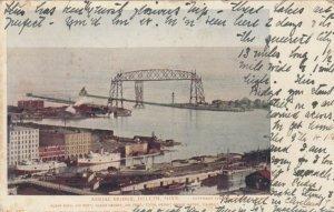 DULUTH , Minnesota, 1905; Aerial Bridge