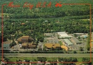 Tennessee Nashville Music City U S A Aerial View Of The New Grand Ole Opry House