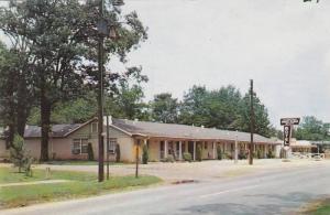 White Plaza Motel, Prescott, Arkansas, 1940-1960s