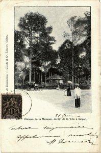 VIETNAM INDOCHINE - Kiosque de la Musique (190235)