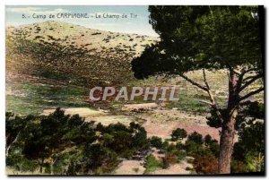 Old Postcard Camp Carpiagne The range