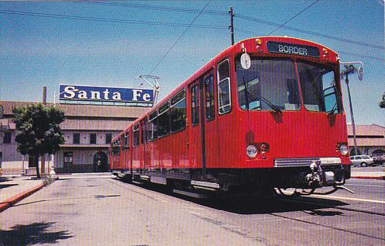 Trolley San Diego Trolley Model U2 / HipPostcard