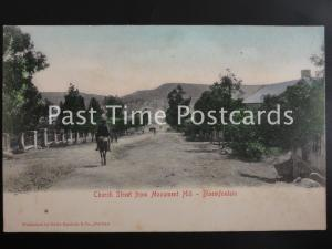 c1902 - South Africa: BLOEMFONTEIN, Church Street from Monument Hill