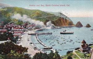 California Santa Catalina Island Beautiful Avalon Bay 1922