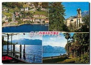 Postcard Modern Magadino Lago Maggiore