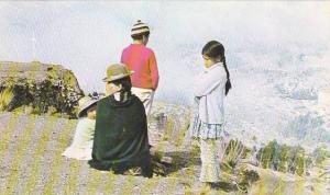 Paisaje Y Trajes Tipicos, La Paz, Bolivia, 1940-1960s