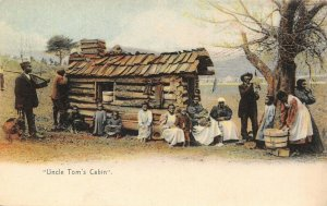 Black Americana~Uncle Tom's Cabin~4 Generations~15 Souls~Turkey~Laundry~1907
