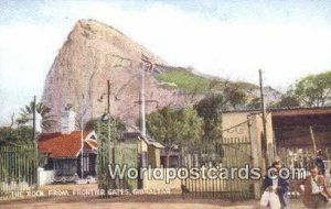 The Rock, Frontier Gates Gibraltar Germany Writing on back