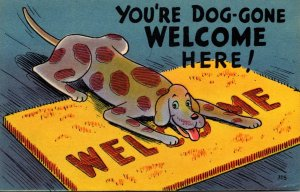 Humour You're Dog-Gone Welcome Here 1947