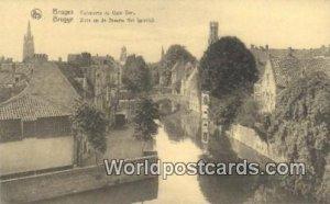 Quai Veri Bruges, Belgium Unused