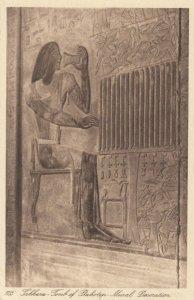 SAKKARA, Egypt , 1910-20s; Tomb of Ptahotep, Mural Decoration # 2