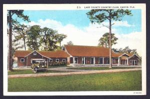 Lake County Country Club Eustis Florida used c1935