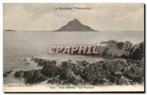 Old Postcard The UK Picturesque Val Andre The Verdelet