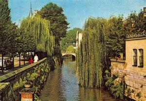 Netherlands Valkenburg Venetiaans Geulgezicht Bridge River Postcard