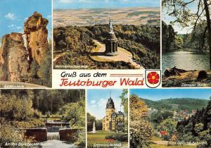 Gruss aus dem Teutoburger Wald, Detmold Schloss Hermannsdenkmal Externsteine