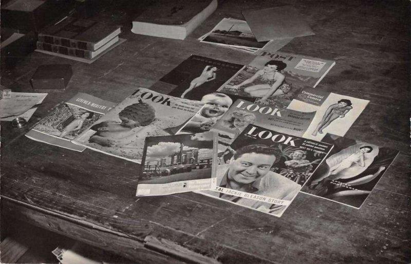 Look Magazines Post Magazine Real Photo Vintage Postcard AA28013