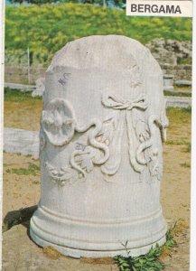 BERGAMA IZMAR , Turkey, 1950-70s ; Column with Snake