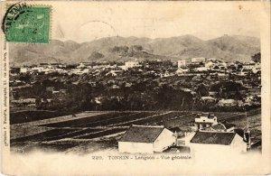 CPA AK VIETNAM - Tonkin - Langson - Vue générale (94264)