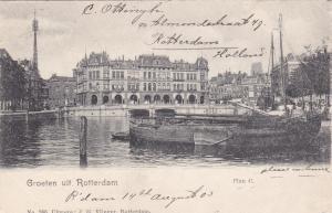 Groeten uit ROTTERDAM , Netherlands , PU-1905