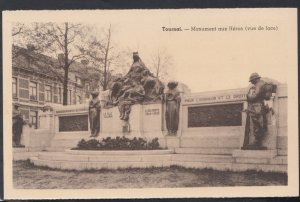 Belguim Postcard - Tournai - Monument Aux Heros  DC2103