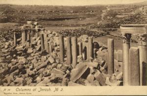 jordan, JERASH, Columns (1920s) Sarrafian 38