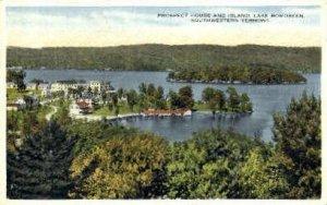Prospect House - Lake Bomoseen, Vermont