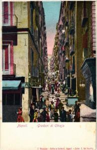 CPA Napoli Gradoni di Chiaia . ITALY (499062)