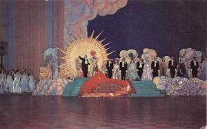 NEW ORLEANS LOUISIANA~CARNIVAL COURT AT ONE OF MARDI GRAS BALLS POSTCARD c1960s