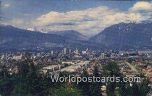 City, Little Mountain Vancouver British Columbia, Canada 1956