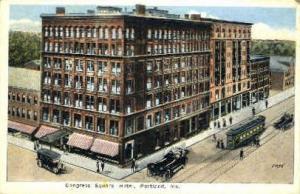 Congress Square Hotel Portland ME 1921