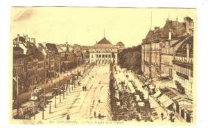 La Place Broglie Et Le Theatre, Strasbourg (Bas Rhin), France, 1900-1910s