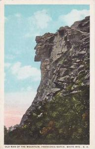 New Hampshire White Mountains Old Man Of the Mountain Franconia Notdh