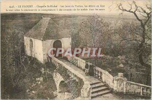 Old Postcard The Faouet Chapelle Saint Michel Days of Forgiveness