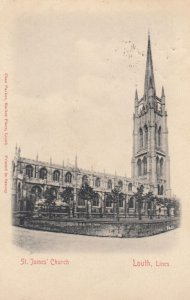 LOUTH , Lines , Co. Louth, Ireland, 1901-07 ; St James Church Ver-2