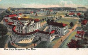 New York University, New York City, N.Y., Early Postcard, Unused