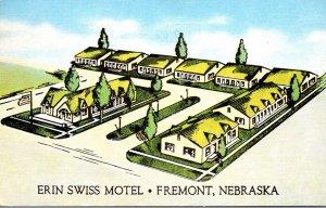 Nebraska Fremont Erin Swiss Motel 1951