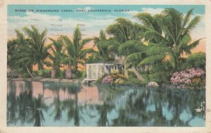 FORT LAUDERDALE , Florida , 1934 ;Himmershee Canal