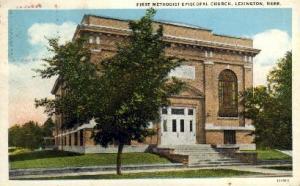 First Methodist Episcopal Church Lexington NE Missing Stamp, Postal Used unknown