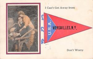 I Can't Get Away From Versailles New York~Lady Holds On~Don't Worry~1919 PC