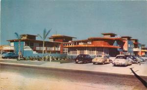 Autos 1940s Rossmore Hotel roadside PALM SPRINGS CALIFORNIA Roberts 4665
